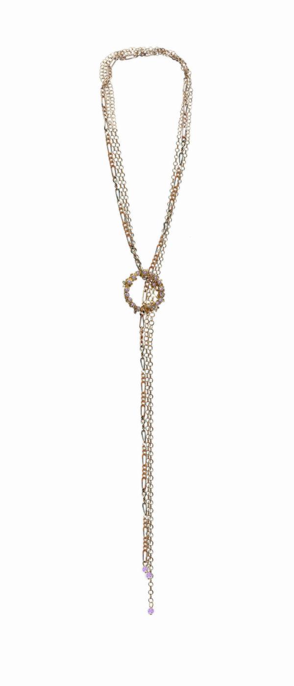 Collar G151 color lila
